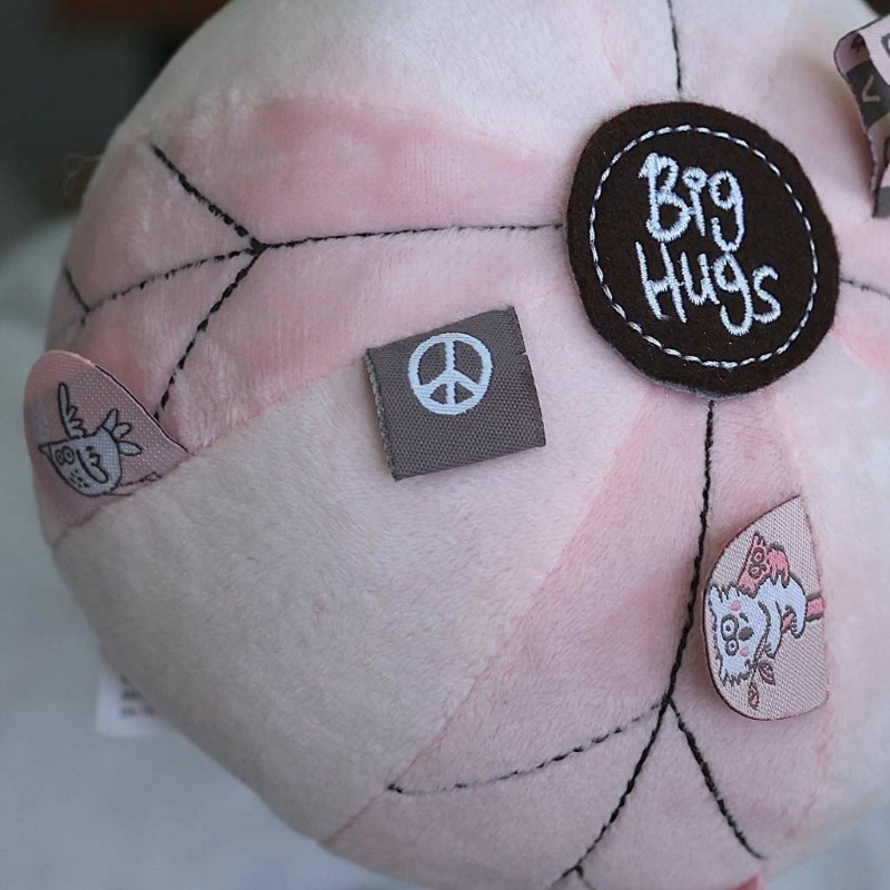O.B Designs Pink Sensory Tag Ball