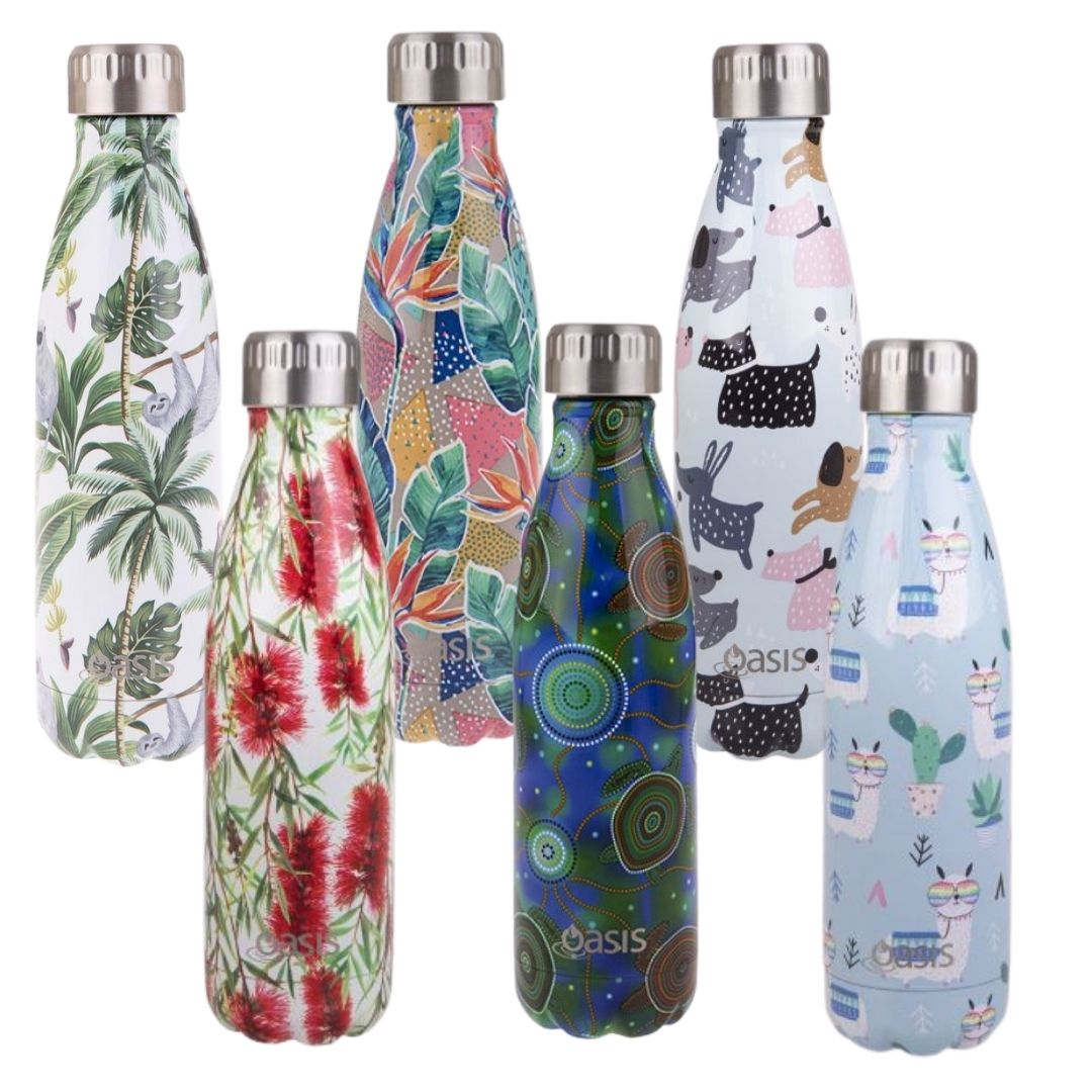 Oasis 500ml Insulated Drink Bottle New