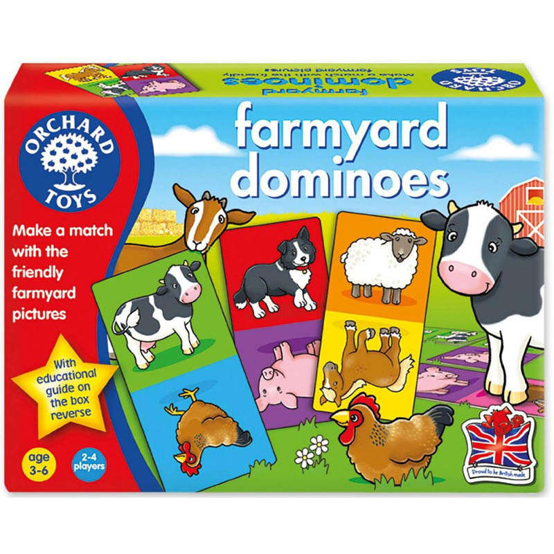 Orchard Toys - Farmyard Dominoes