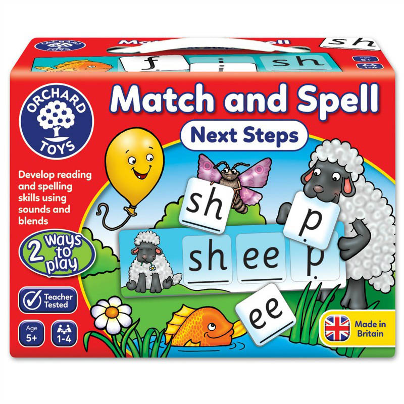 Orchard Toys Match and Spell - Next Steps