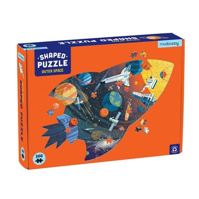 Outer Space Shape Puzzle 300pc