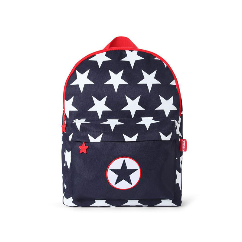 Penny Scallan Canvas Bare Backpack Navy Star
