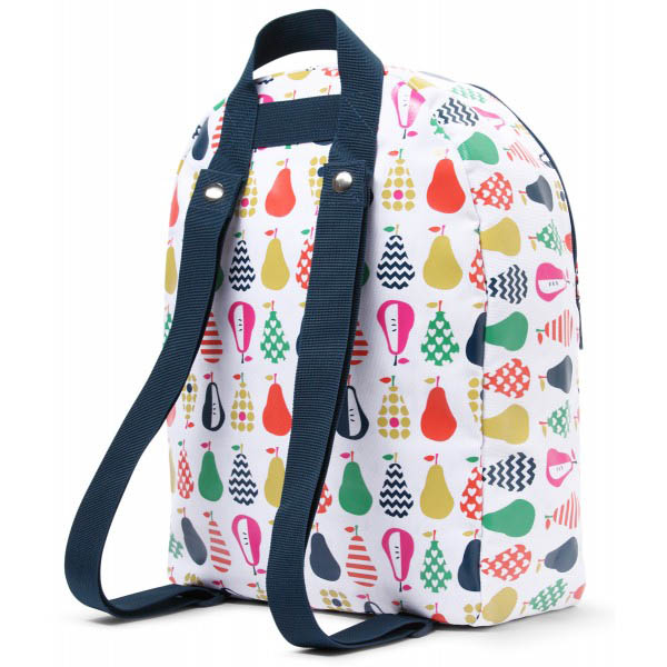 Penny Scallan Canvas Rucksack Backpack - Pear Salad