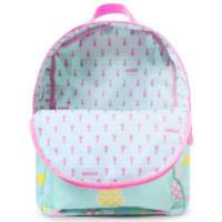 Penny Scallan Canvas Rucksack Backpack - Pineapple Bunting