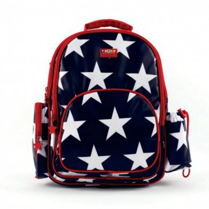 Penny Scallan Large Backpack Navy Star