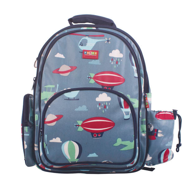 Penny Scallan- Kids Backpack- Large Backpack {Space Monkey}