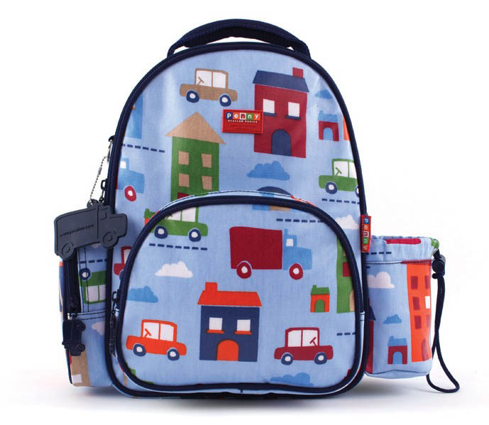 Penny Scallan-Kids Backpack-Medium Backpack {Big City design}