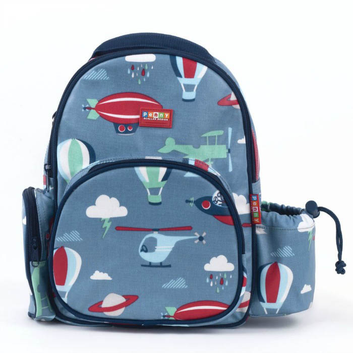 Penny Scallan Kids Medium Backpack {Space Monkey}