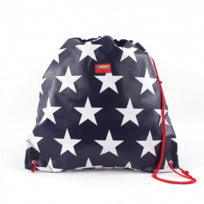 Penny Scallan-Library/Swimming Bags- Drawstring Bag {Navy Star}