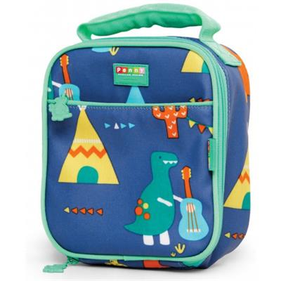 Penny Scallan Lunchbag Dino Rock