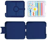 Penny Scallan Mini Bento Box - Navy Star