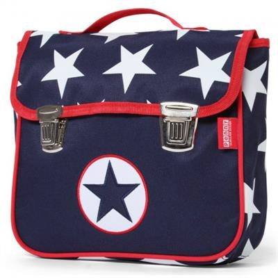Penny Scallan Satchel Backpack Navy Star