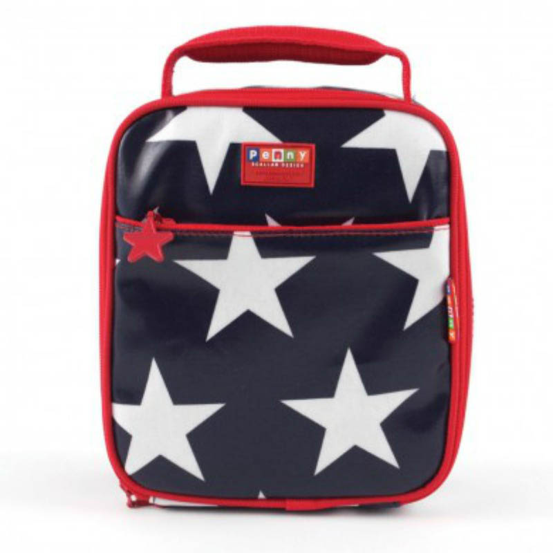 Penny Scallan Lunchbag Navy Star