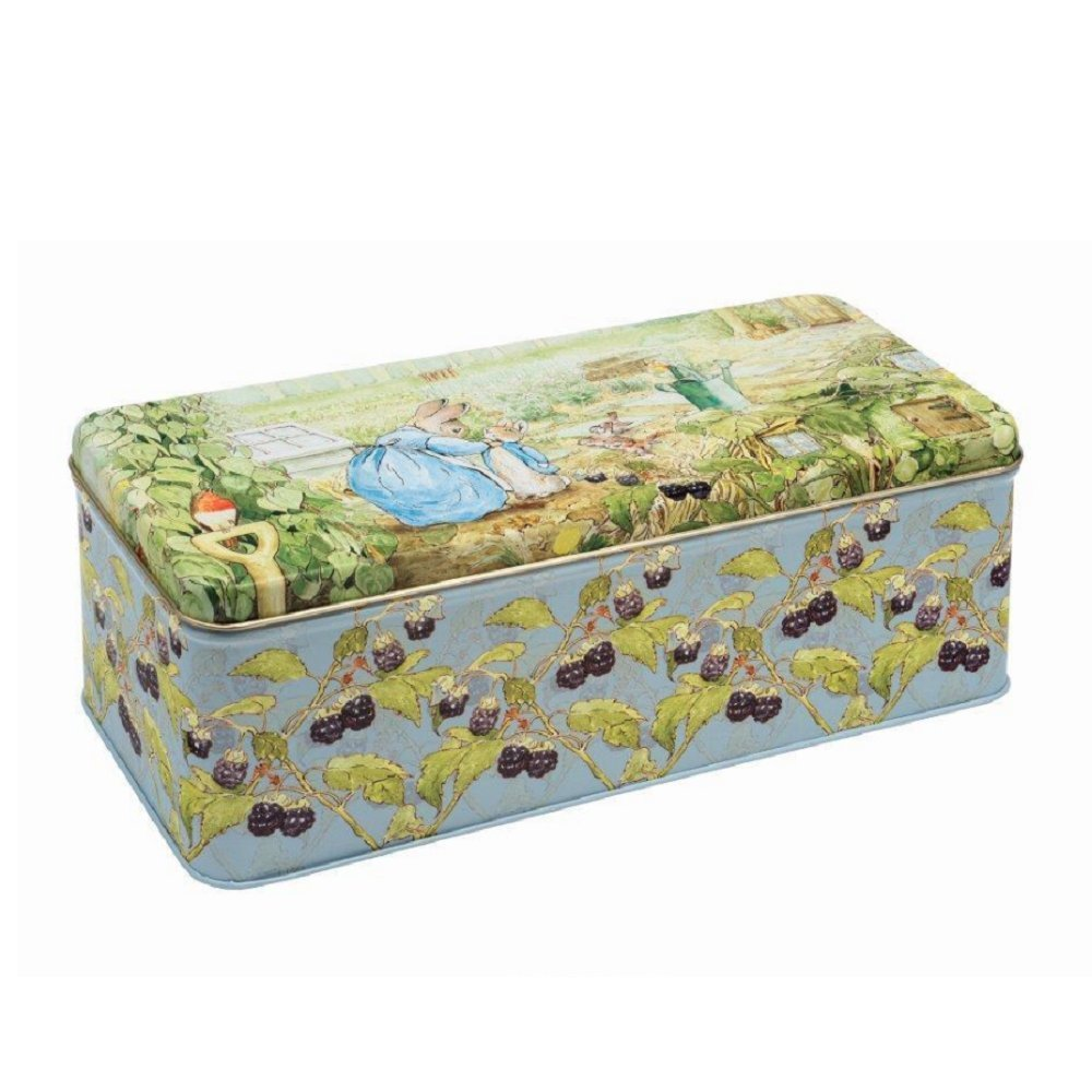 Peter Rabbit Deep Rectangular Tin