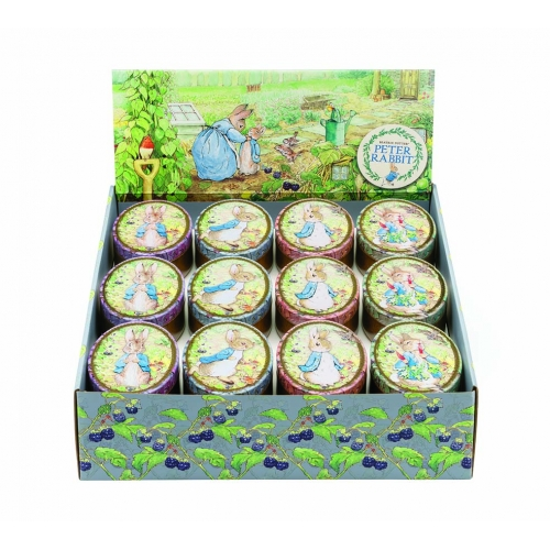 Peter Rabbit Oval Tin