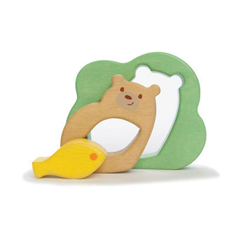 Petilou-Wooden Toys-Baby Bear Puzzle {3 pieces}