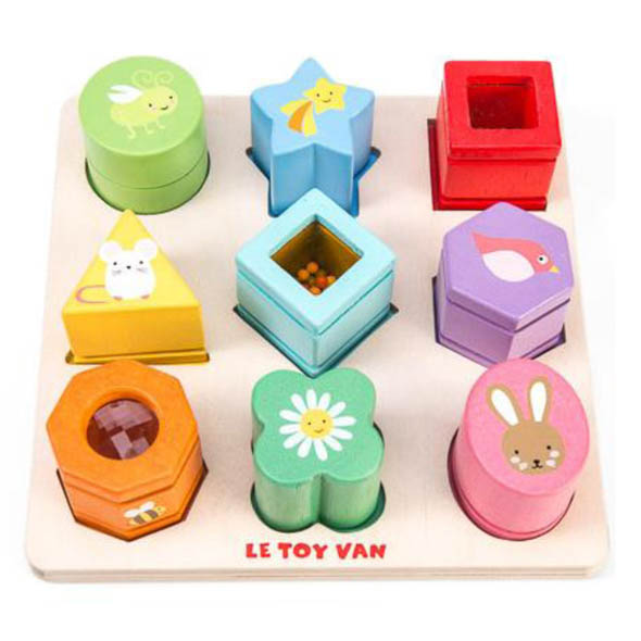 Petilou-Wooden Toys-Sensory Shapes