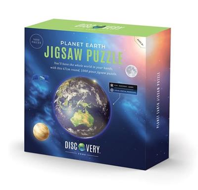 Planet Earth Jigsaw Puzzle 1000 Pieces