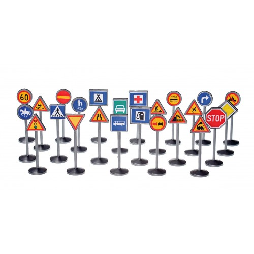 Plasto Traffic Signs 24 pack