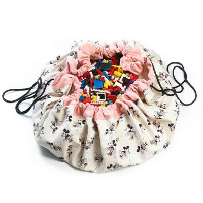 Play&Go Disney Minnie Gold Toy Storage Bag