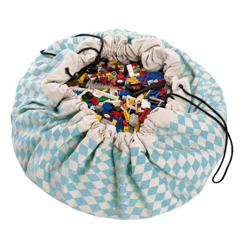Play&Go Diamond Blue Toy Storage Bag