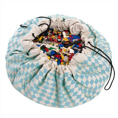 Play&Go Toy Storage Bag - Diamond Blue
