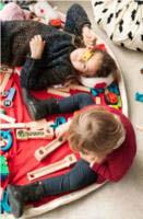 Play Amp Go Panda Toy Storage Bag