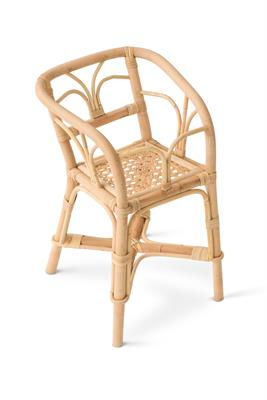 Poppie Rattan Doll High Chair