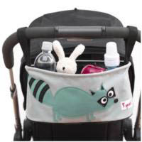 3 Sprouts Pram Organiser Whale