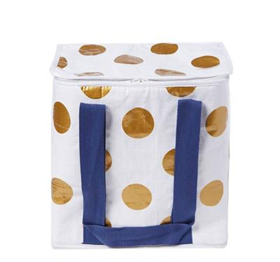 Project Ten - Insulated Cooler Bag - Polka