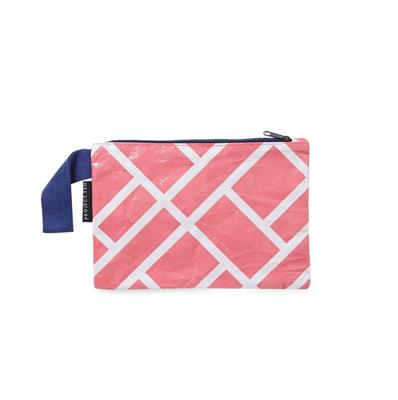 Project Ten - Mini Zip Pouch - Geo