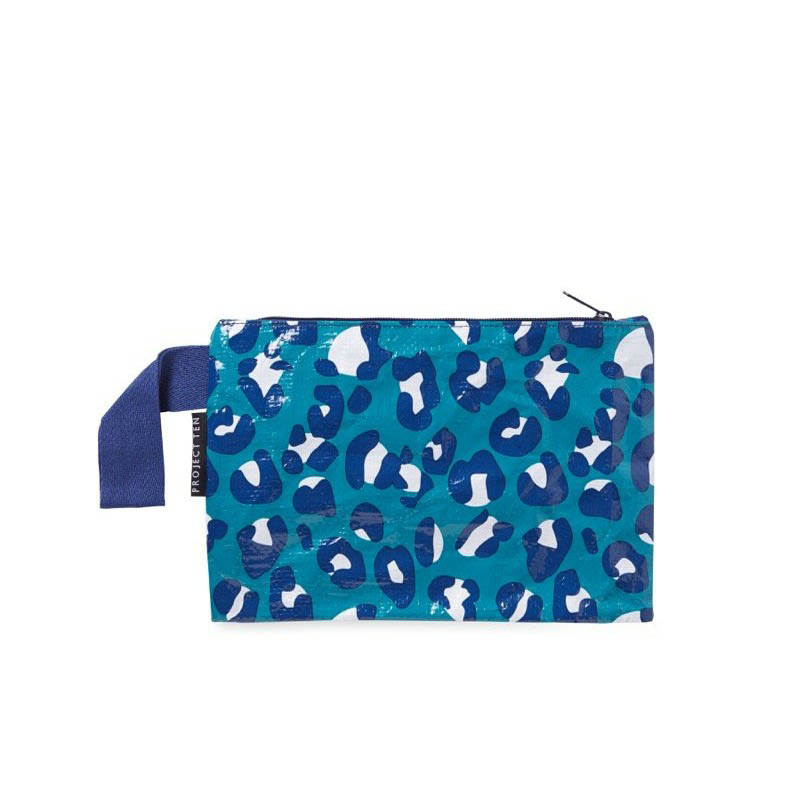 Project Ten - Mini Zip Pouch - Leopard