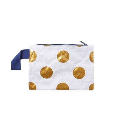 Project Ten - Mini Zip Pouch - Polka