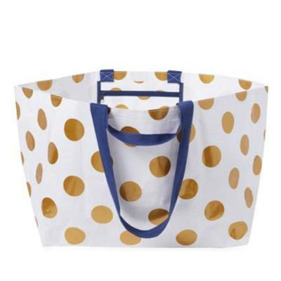 Project Ten - Oversize Tote Bag - Polka