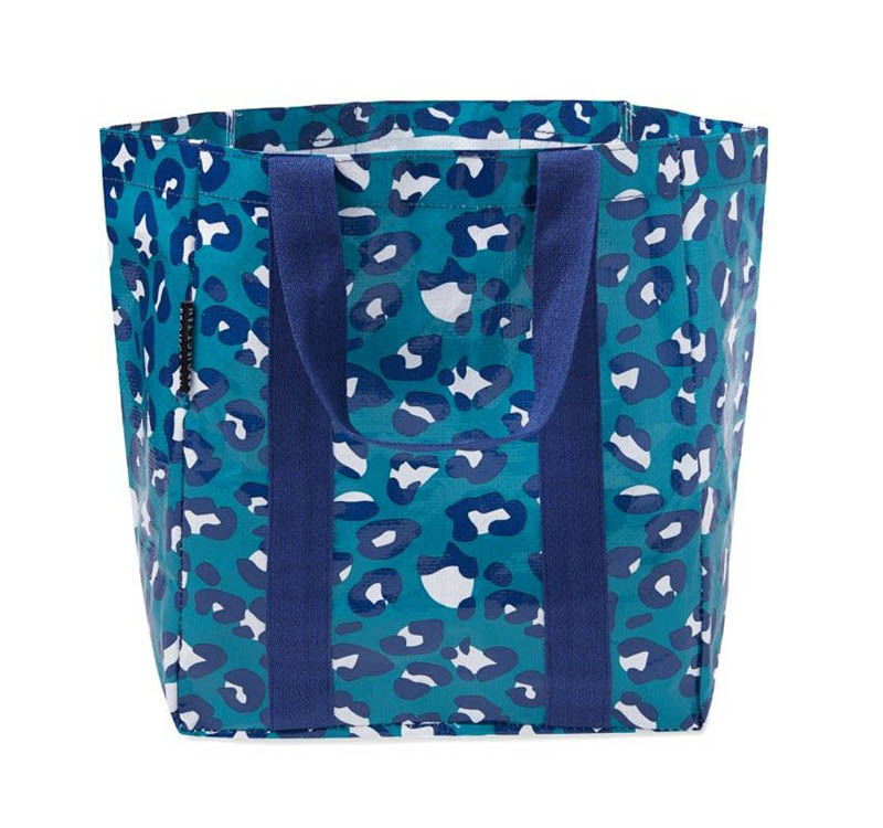 Project Ten - Shopper Tote Bag - Leopard