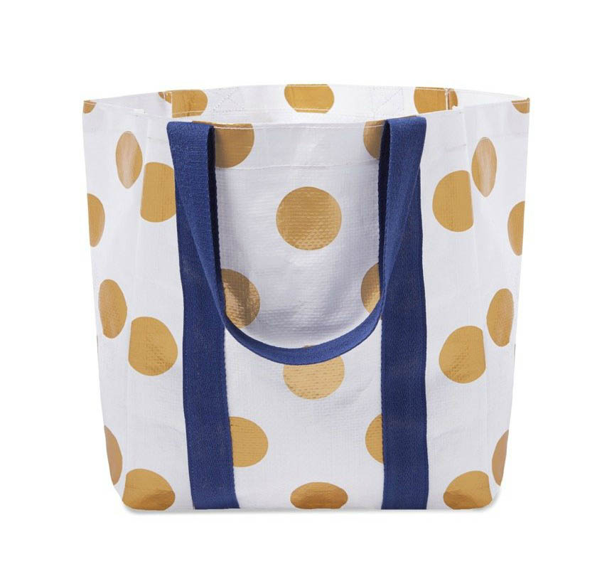 Project Ten - Shopper Tote Bag - Polka
