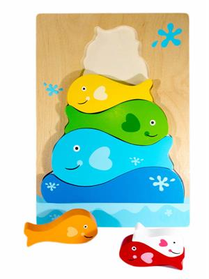 Puz^Fish Stacker Puzzle