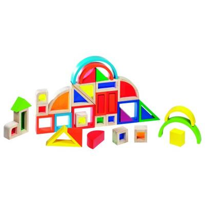 Rainbow Building Blocks with Windows
