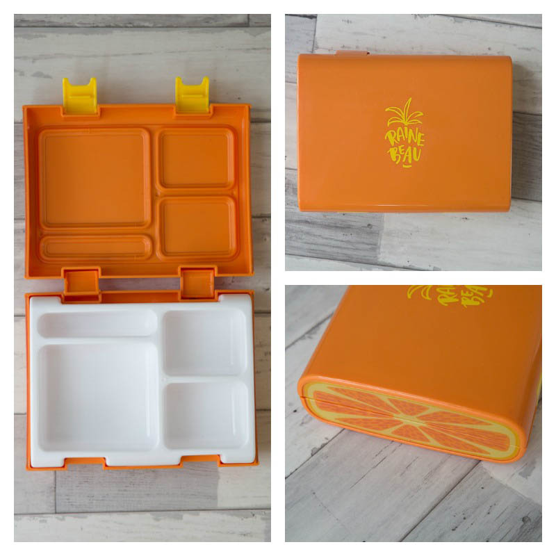 Rainebeau Orange Bento Lunchbox