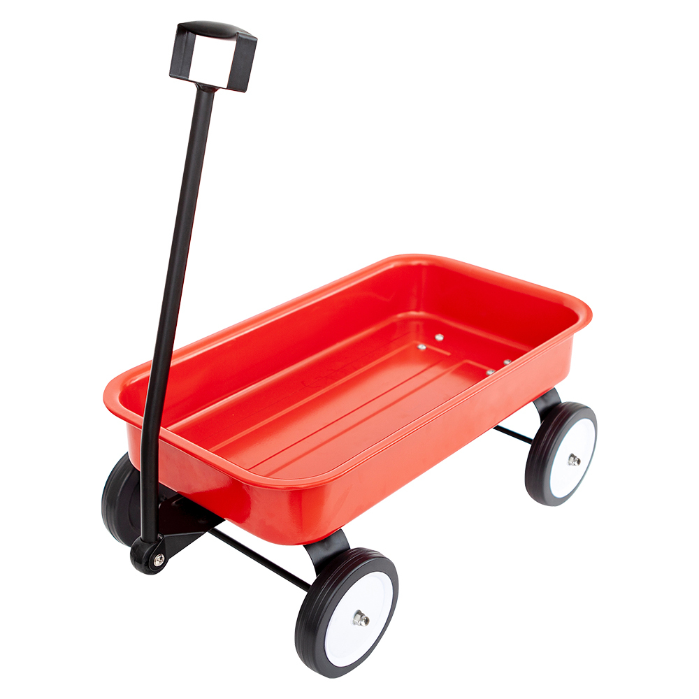 Kids metal wagon toy