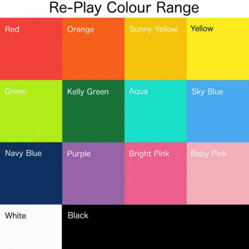 Replay colours