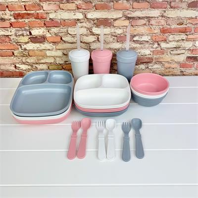 Replay Kids Divided Plate Sets - Choose Your Colours!