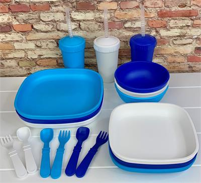 Replay Kids Flat  Plate Sets - Choose Your Colours!