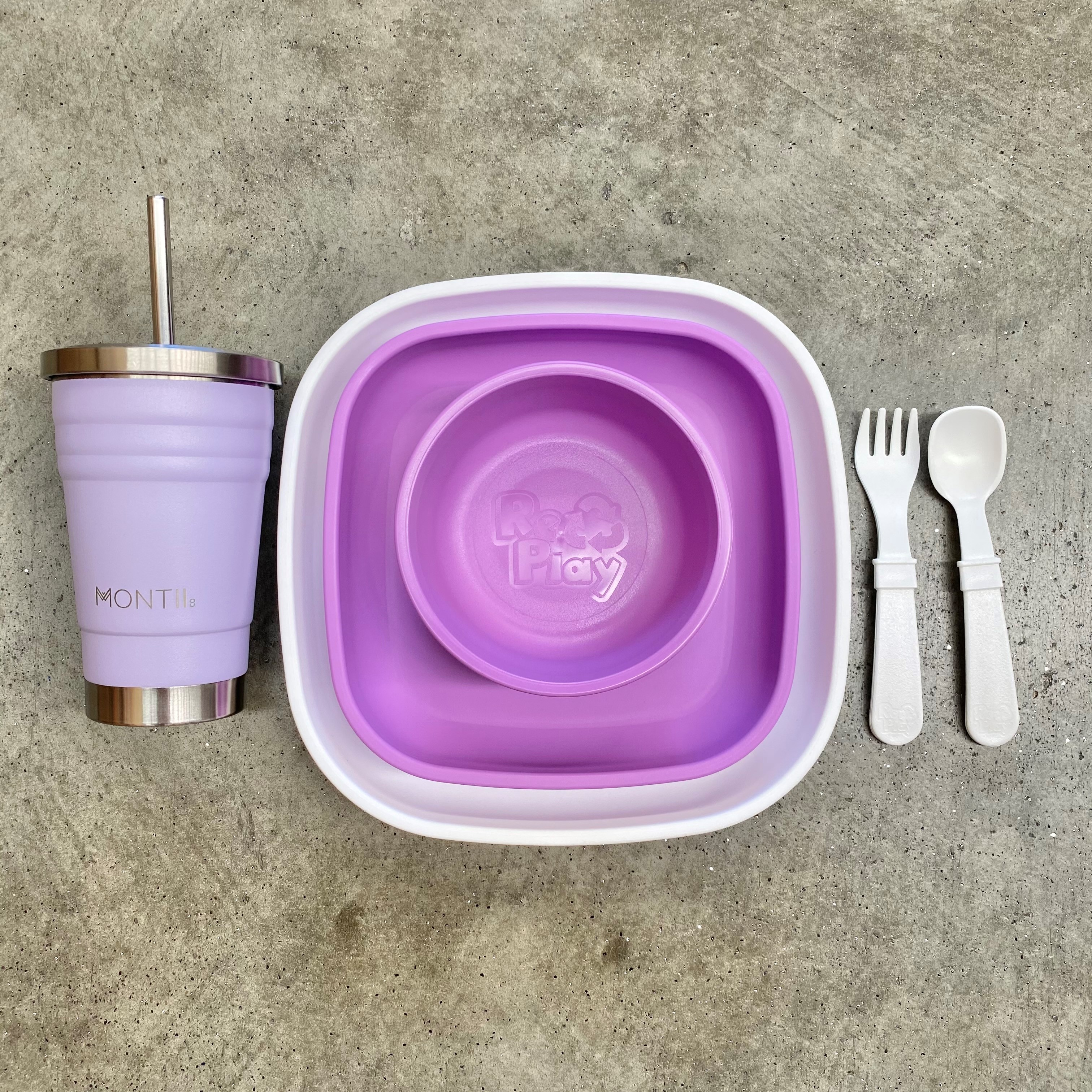 Replay Meal Time Set with MontiiCo Mini Smoothie Cup!