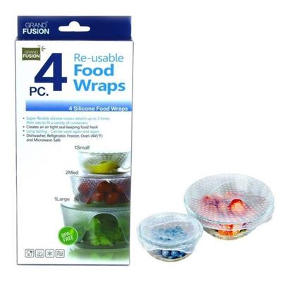 Reusable Food Wraps 4pc