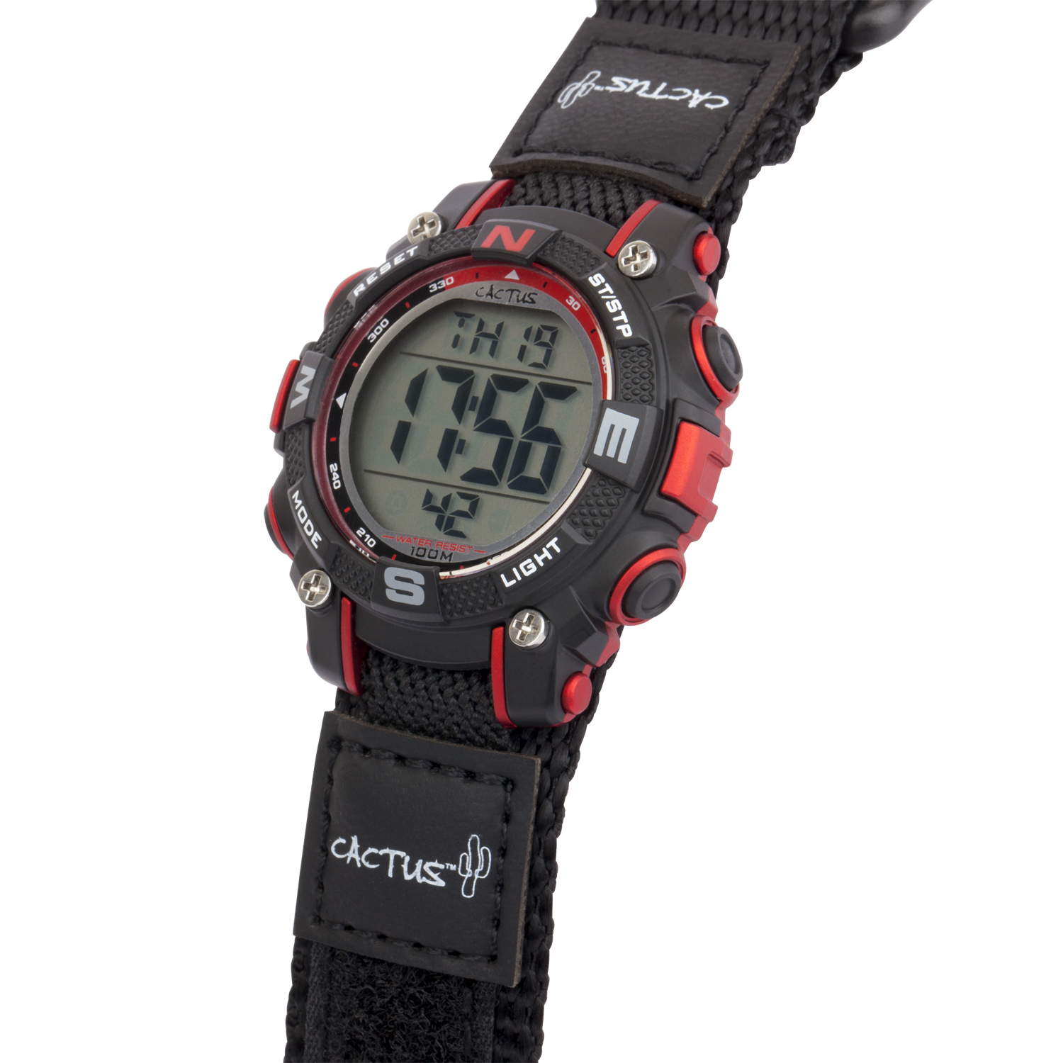 robust-digital-boys-watch-black/red- CAC-104-M01