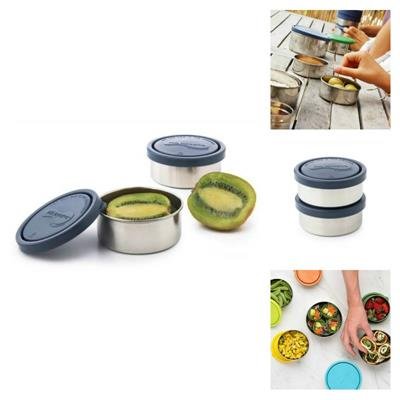 U Konserve Small Round Leakproof Ocean Containers Set of 2