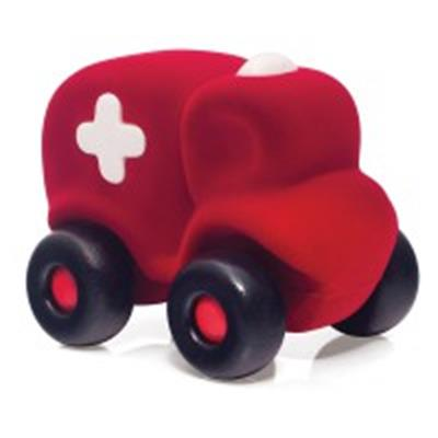 Rubbabu Little Ambulance Toy