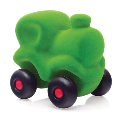 Rubbabu Little Green Train Toy