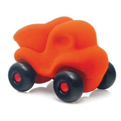Rubbabu Little Orange Dump Truck Toy